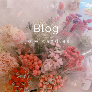 joie candles Blog